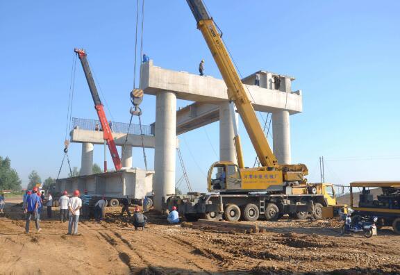 高速桥梁施工