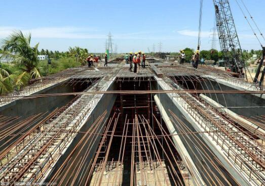 桥梁声测管施工
