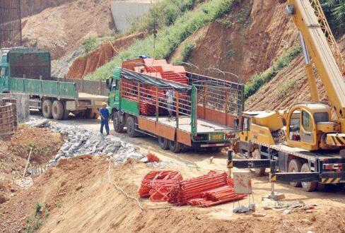 中国高铁施工
